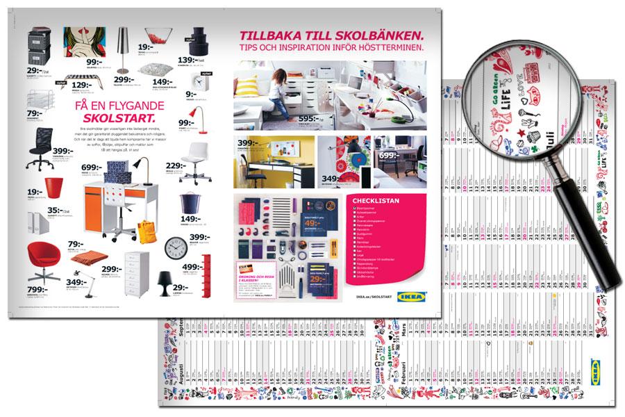 IKEA - Kalender - Tillbaka till skolbänken