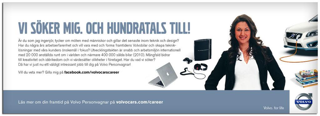 Volvo Cars - Annons rekrytering
