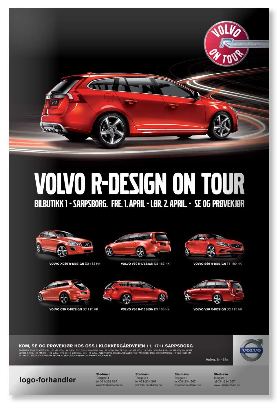 Volvo Norge - Annons R-Design