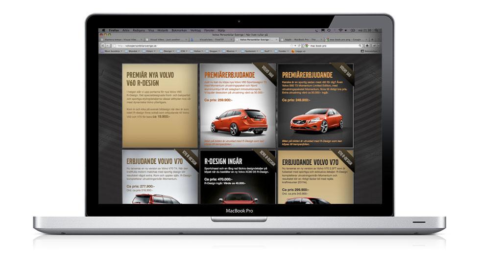 Volvo Personbilar - Kampanjsajt